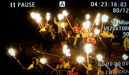 Between Weathers Up Helly Aa test shot 6